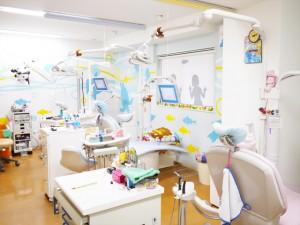 安心、安全でリラックスできる診療室